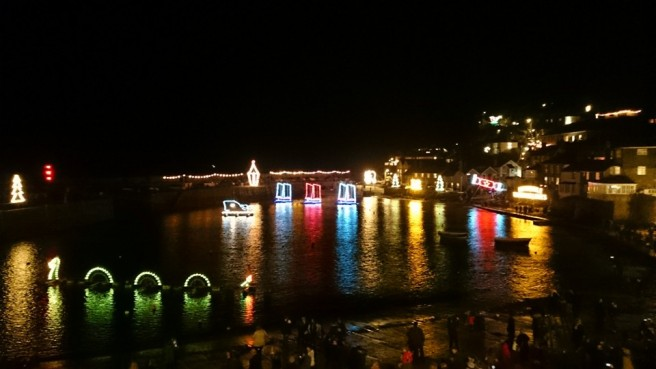 Mousehole Xmas Lights